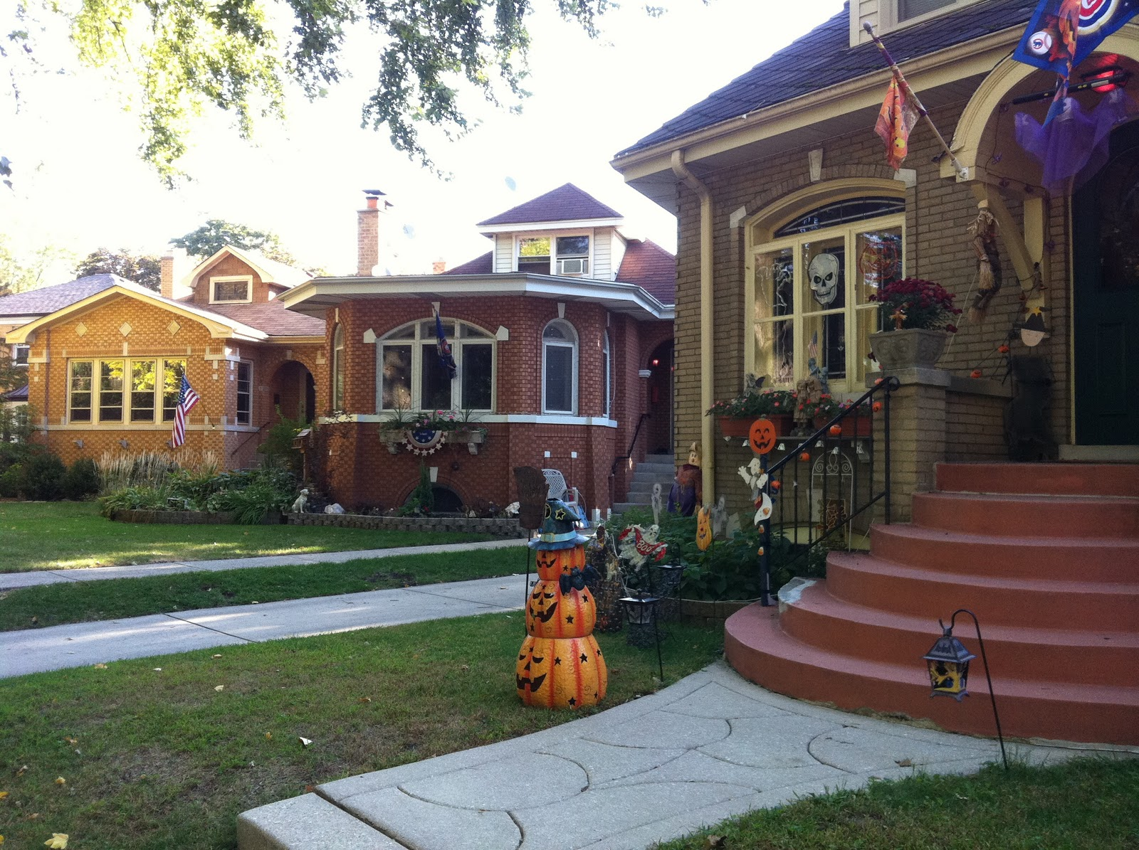 Chicago Bungalow row