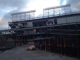 Wrigley Field Renovation November 2014